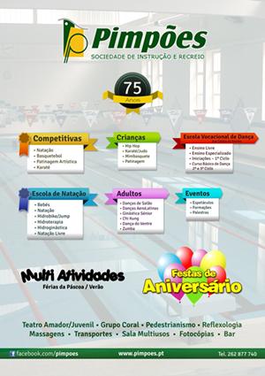 Pimpões - Actividades em 2013-2014